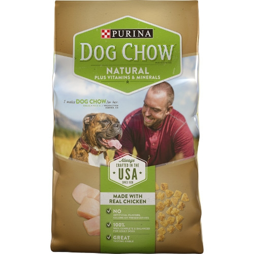 32 lb Dog Chow Natural for $28.99