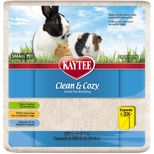 Get A Free Kaytee® Clean&Cozy; With Purchase