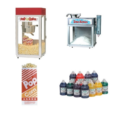 Rent any Concession Machine for 20% off Supplies