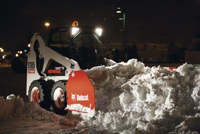 Bobcat 8' Snow Pusher