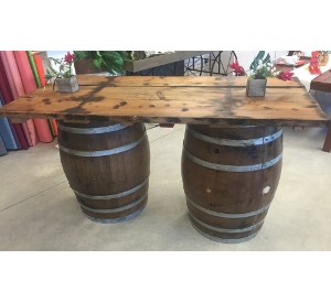 Wine Barrel Bar