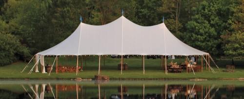 45' x 84' Aurora Sailcloth Tent