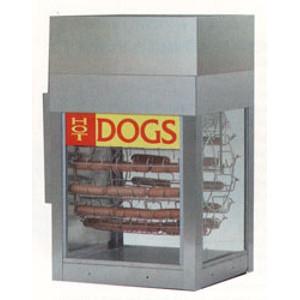 Gold Medal Hot Dog Machine with Bun Warmer