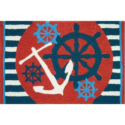 Anchors Away Jellybean Rug
