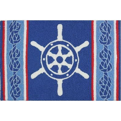 Ship's Wheel Jellybean Rug