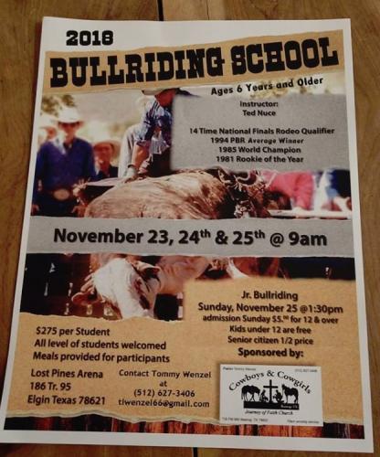 Bull Riding School