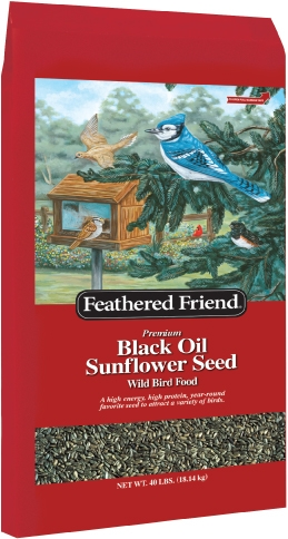 Feathered Friend Black Oil Sunflower 40lb $16.99