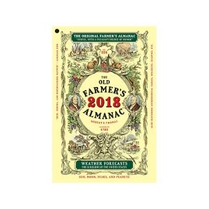 2018 OLD FARMER'S ALMANAC JUST $.99