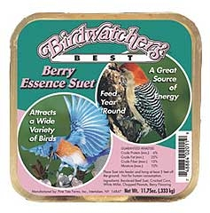 Birdwatcher's Best Berry Essence Suet 11.75oz $.89