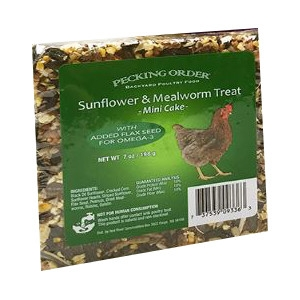 Sunflower & Mealworm Mini Chicken Cakes Only $3.99