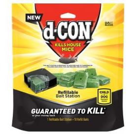 D Con Mouse Bait Station Now $1.99