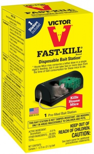 Victor Fast- Kill Bait Station Only $1.00