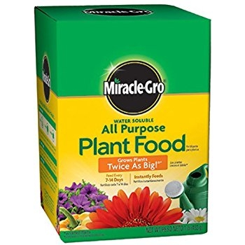 Miracle Grow All Purpose Plant Food for $4.50