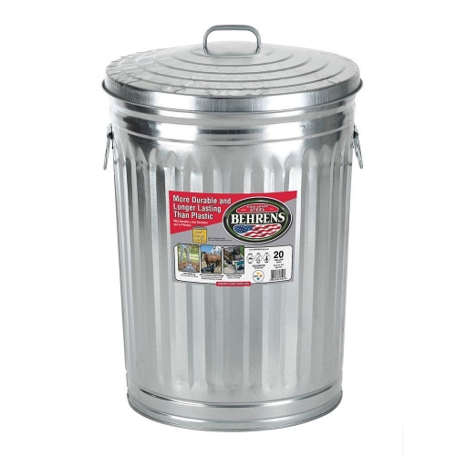 Behrens Trash Can 20 Gal. with Lid: $20.00