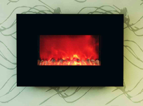 HomComfort 38-Inch Wall Mount Electric Fireplace