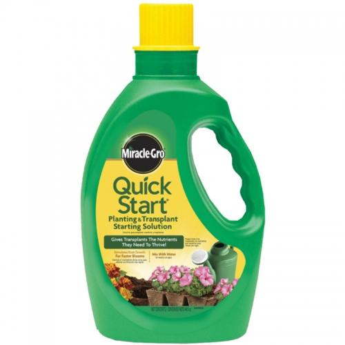 $7.99 for Miracle Grow 48oz Quick Start