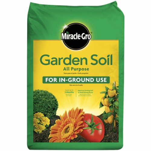 $8.50 for Miracle-Gro Garden Soil 2cuft