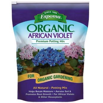 Organic African Violet Premium Potting Mix