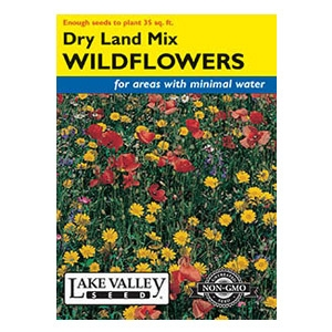 Lake Valley Seed Dry Land Mix Wildflower Seeds