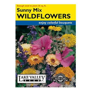 Lake Valley Seed Sunny Mix Wildflower Seed