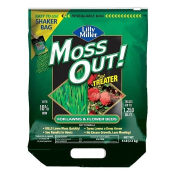 MOSS OUT!® Spot Treater For Lawns & Flower Beds, 5 lbs.