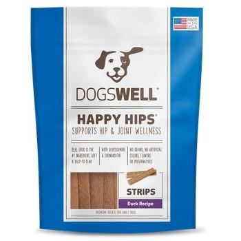 Happy Hips Duck Strips Dog Treats, 12 oz.