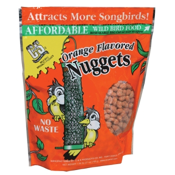 Orange Flavored Suet Nuggets for Birds