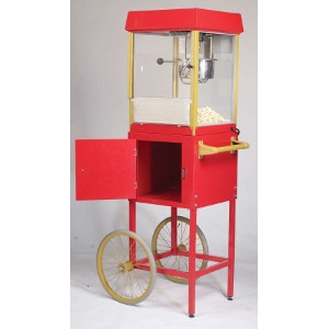 4 oz.Gold Medal Popcorn Machine with Cart