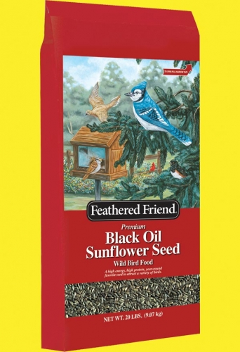 Feathered Friend Black Oil Sunflower Seed