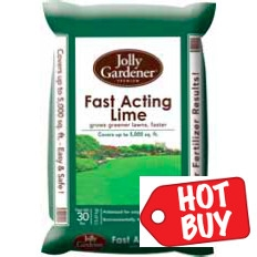 Fast Acting Lime 30 lb. now 3/$29.99