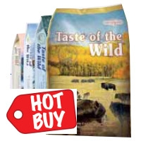 Taste of the Wild Dog Food 30 lb. for $42.99
