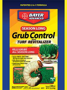 bag of Bayer Season Long Grub