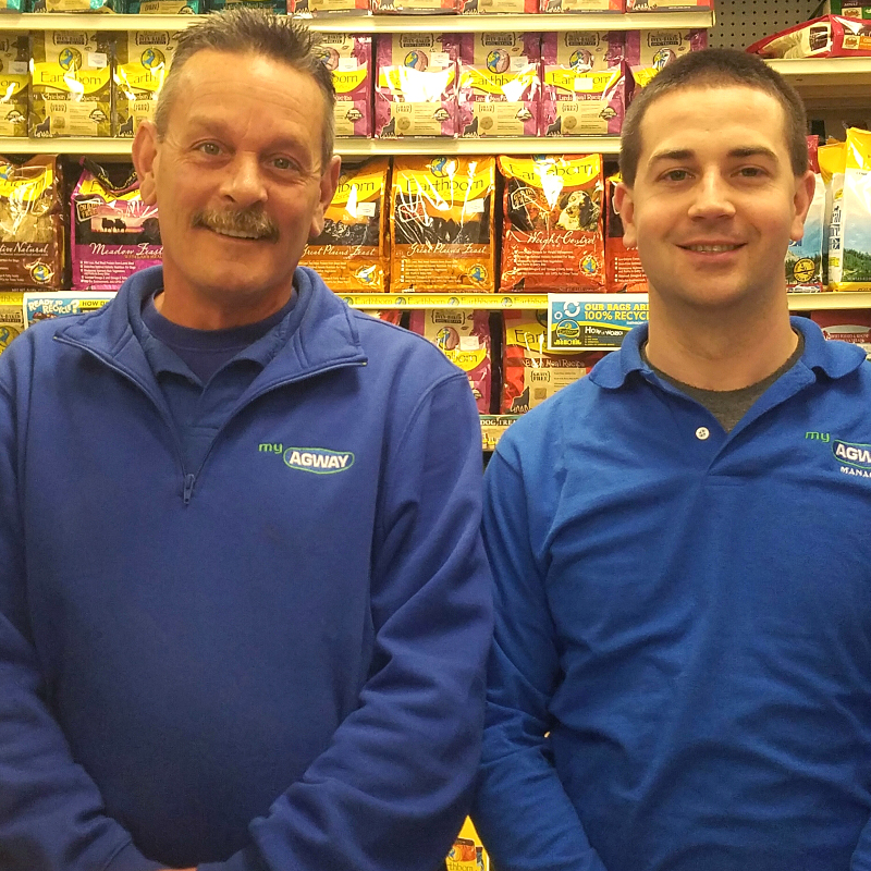 Steve and James, Assistant Managers