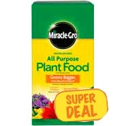 Miracle Gro All Purpose 4 lb. now $7.99