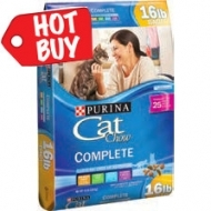 Purina Cat Chow 16 lb. now $12.99