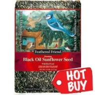 Feathered Friend Black Oil Sunflower 5lb now $3.99