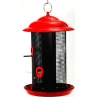 FF Red Metal Mesh Screen Feeder now $28.99