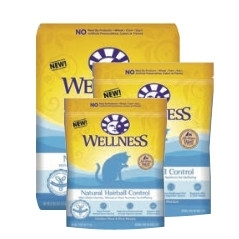 Wellness Natural Hairball Control Cat Food on Sale