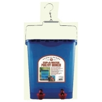 Poultry Waterer Cup Drinker 4 gal now $29.99