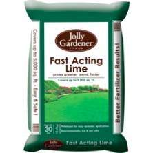 Fast Acting Lime 30 lb. now $13.99