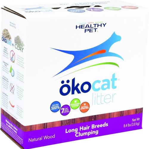 Okocat Natural Wood Long Hair Breeds Cat Litter