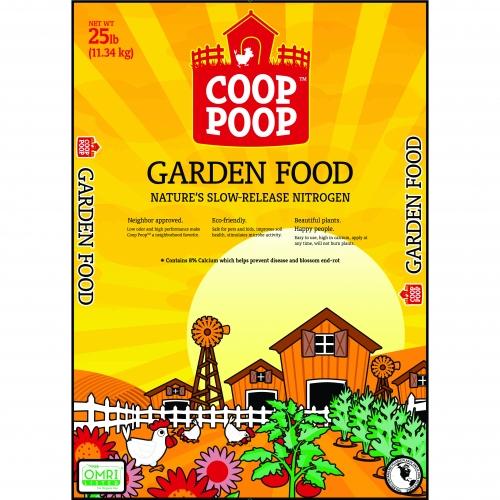 Coop Poop Lawn and Garden Food