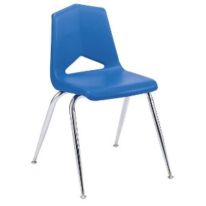 Chair, Child Stacking- Blue Only