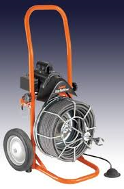 Sewer Auger, Self Feed 75 ft