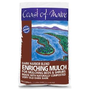 Coast of Maine Dark Harbor Blend Enriching Mulch