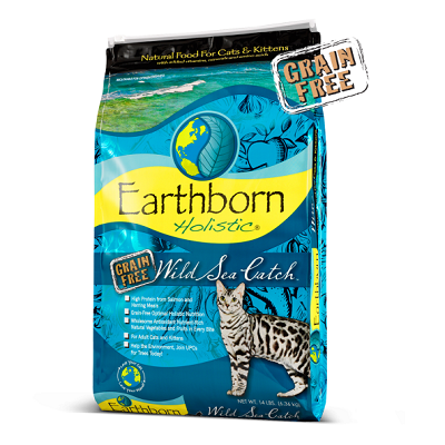 Earthborn Holistic® Wild Sea Catch™ for Cats/Kittens 14 lbs.