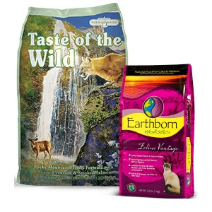 $1 Off All Cat Food - 4lb Bag or Larger
