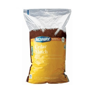 Agway Cedar Mulch 3 Cuft Bags - 9 for $29.99