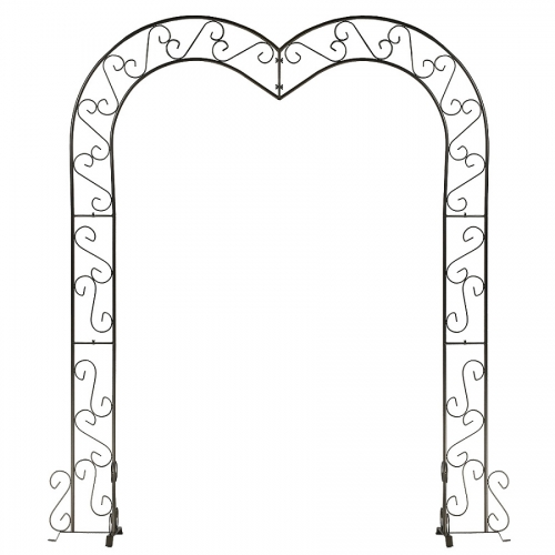Metal Heart Shaped Arch