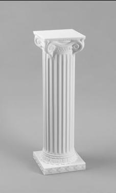 White Wedding Pedestal